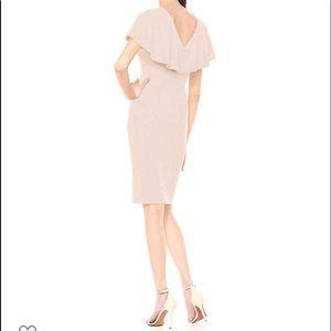 Calvin Klein Flutter Sleeves Sheath Dress